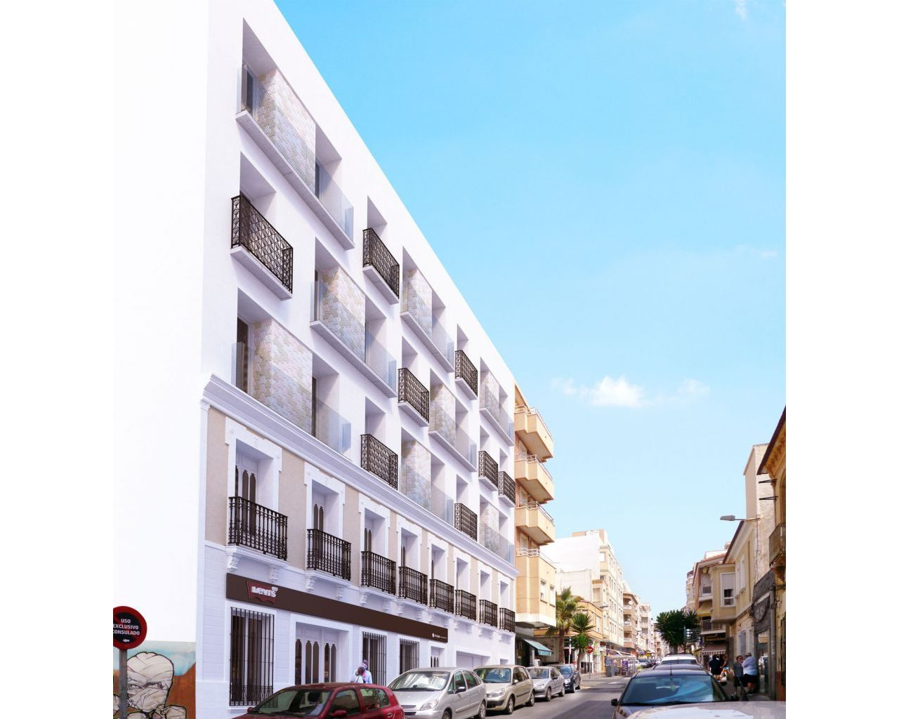 Nýbygging - Apartment/Flat - Torrevieja - Centro