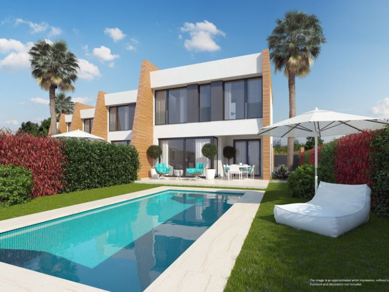 Town House - New Build - Orihuela Costa - Villamartín