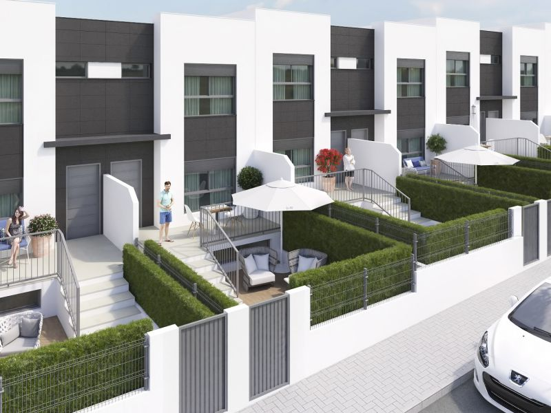 Duplex/Townhouses - New Build - Molina de Segura  - Molina de Segura