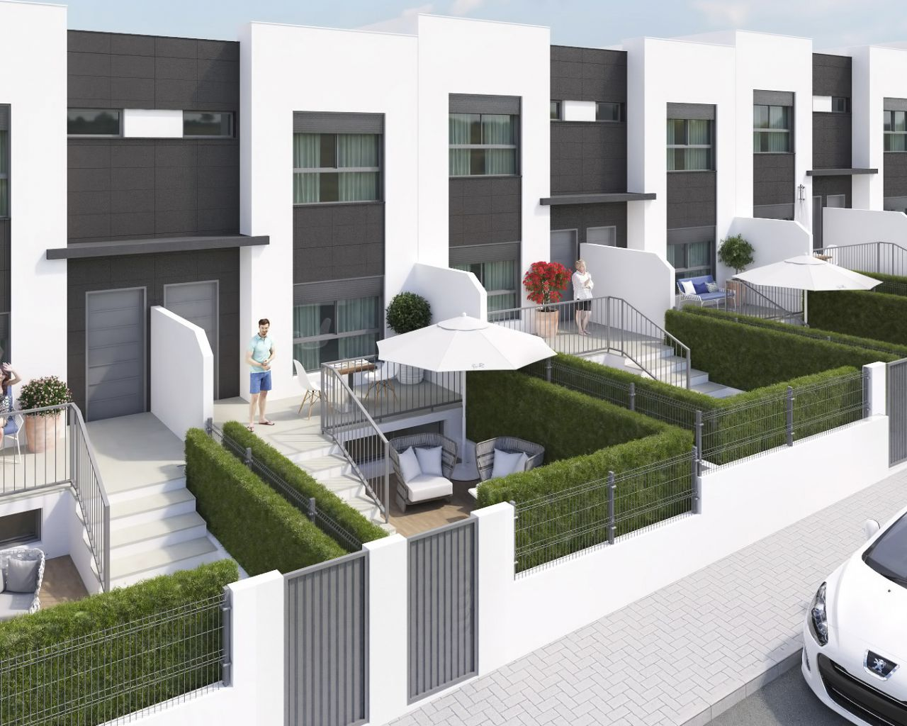 New Build - Duplex/Townhouses - Molina de Segura