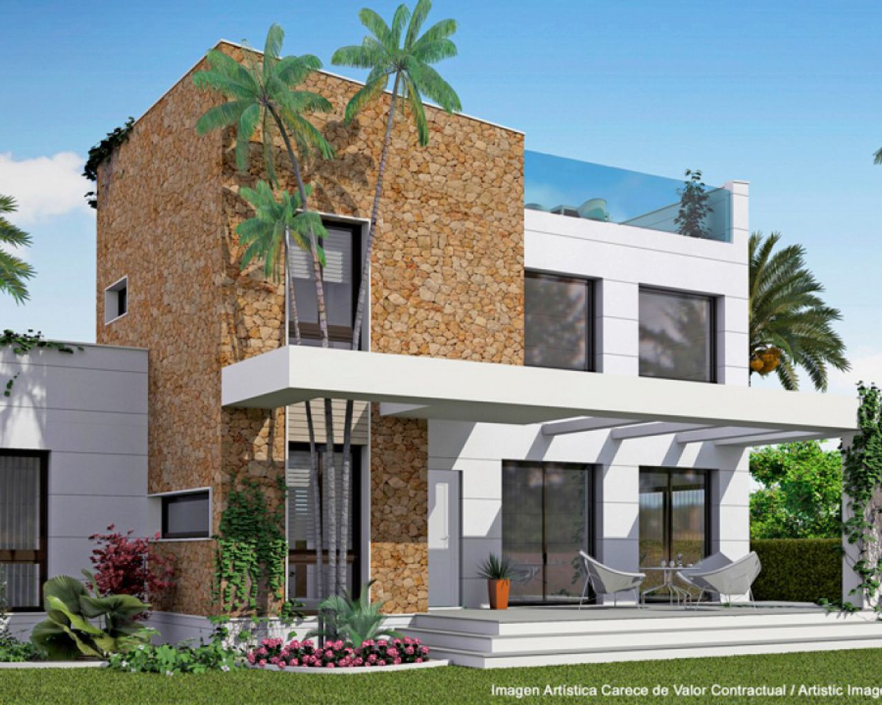 New Build - Villa - Ciudad Quesada - Dona Pepa