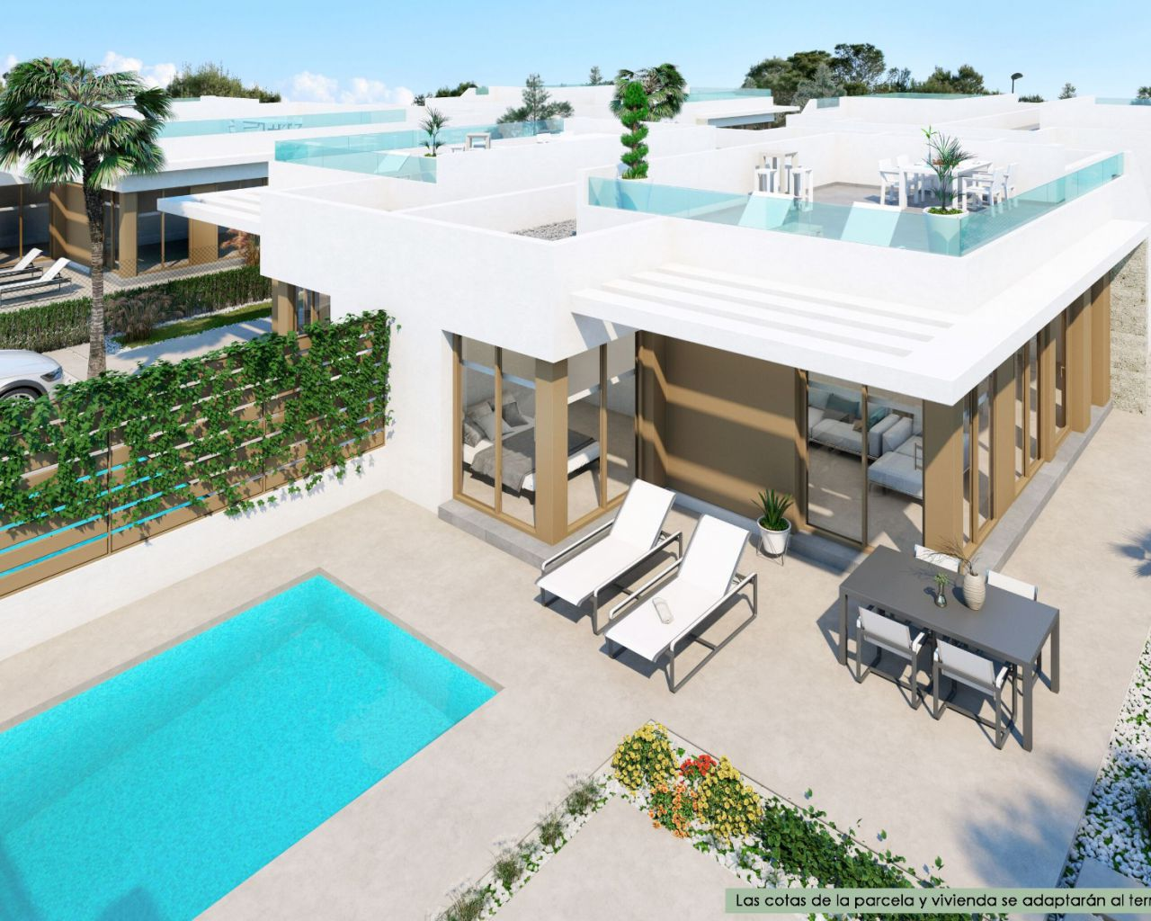 New Build - Semi Detached Villa - San Miguel de Salinas