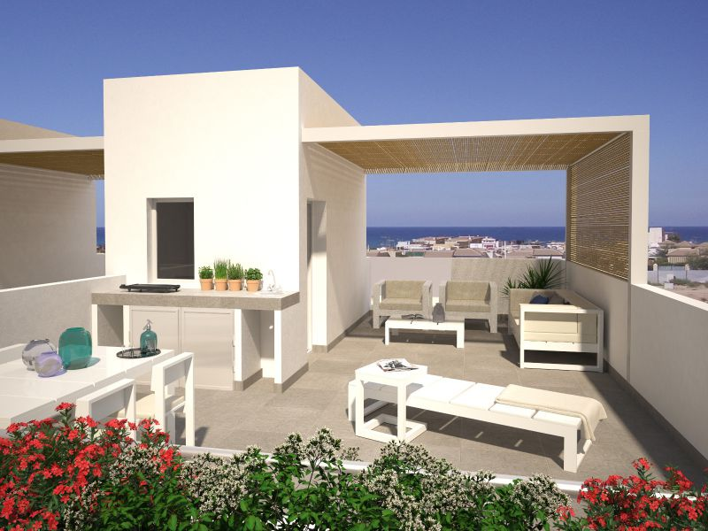 Duplex/Townhouses - Nýbygging - Torrevieja - Torrevieja