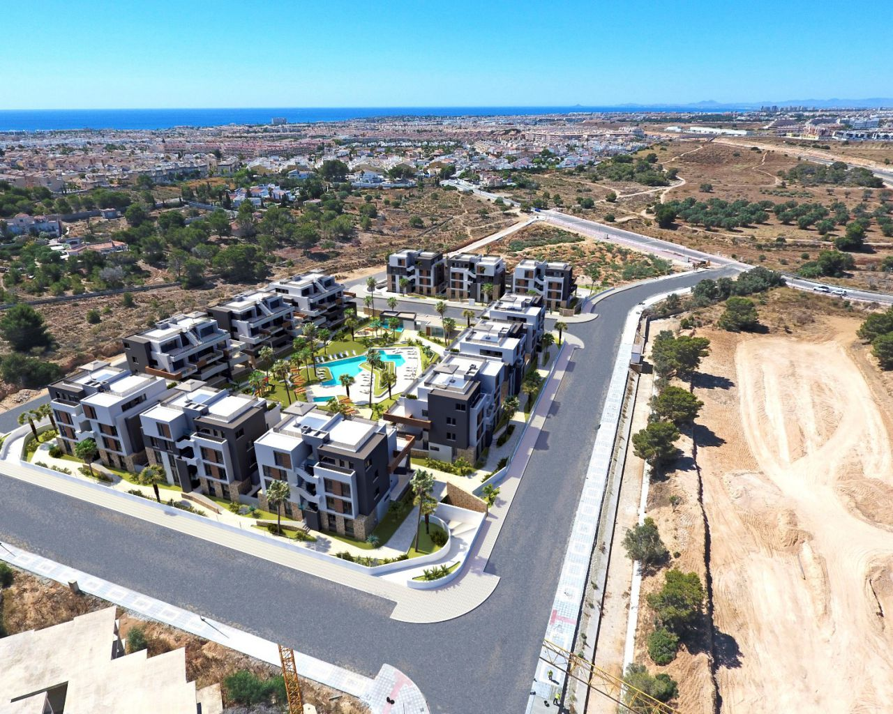 New Build - Apartment/Flat - Orihuela Costa - Los Altos